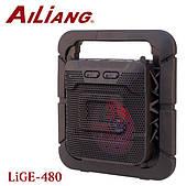 Портативная акустическая система AiLiang Lige 480 колонка Мощность 10 Ватт X-BASS USB, Радио, Bluetooth, Карта