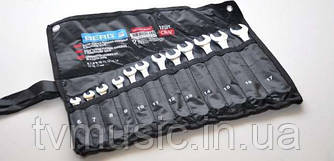 Набор ключей рожково-накидных Berg 48-967 Cr-V (12 шт.)