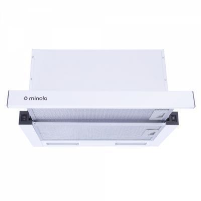 Вытяжка кухонная MINOLA HTL 6915 WH 1300 LED