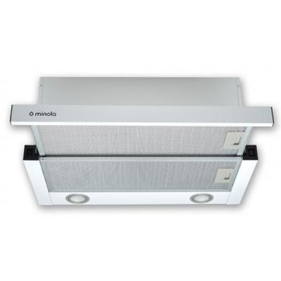 Вытяжка кухонная MINOLA HTL 5612 WH 1000 LED