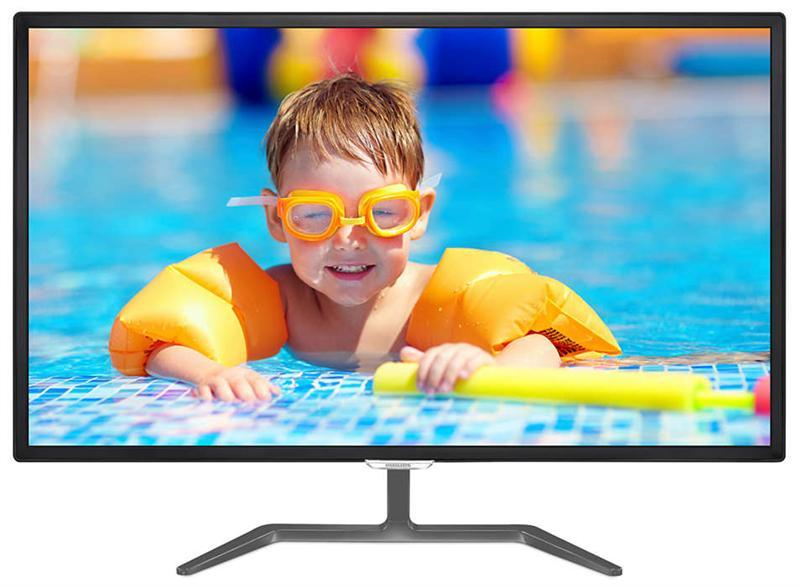 "Монитор Philips 31.5"" 323E7QDAB/01 IPS Black; 1920х1080, 5 мс, 250 кд/кв.м, D-Sub, HDMI, DVI-D, динамики 2х5Вт"