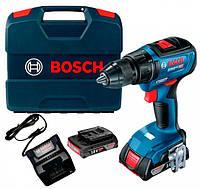 Аккумуляторная дрель-шуруповерт Bosch GSR 18V-50 Professional + 2 акб 2 Ah + GAL 18V-20 + L-Case (06019H5000)