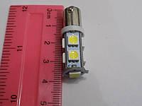 Автомобильная светодиодная лампа для освещения габаритов BA9S-9SMD-5050 (пр-во Китай)