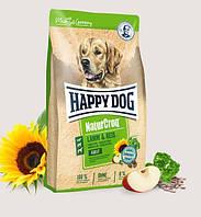 Корм для собак сухой Happy Dog Premium Natur Croq Lamm Reis Хеппи Дог Натур Крок с ягненком и рисом 15 кг