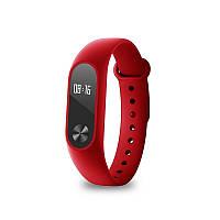 Фитнес браслет Xiaomi Mi Band 2 Red красный трекет, Сяоми / Качественный подарок