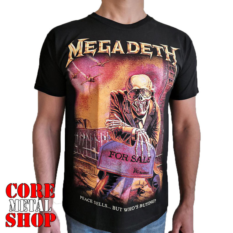 Футболка Megadeath - Peace Sells