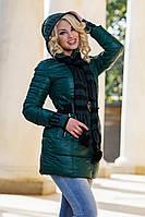Д13175 Куртка  с шарфом