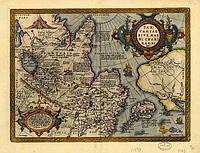 Старинная карта Тартарии 88см x 67см
