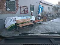Лавка лофт без спинки., фото 1