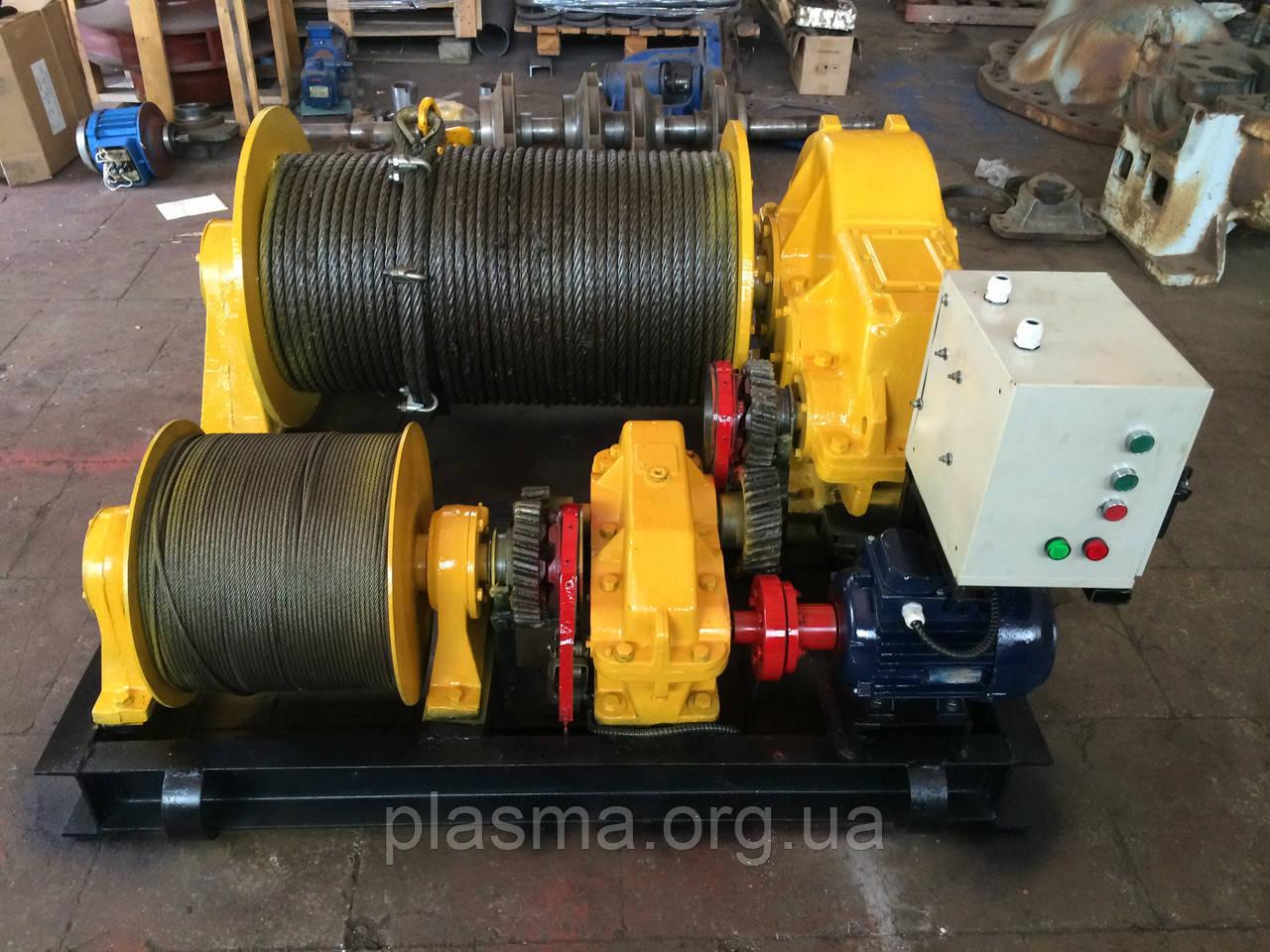 Лебедка электрическая маневровая ТЛ-8М