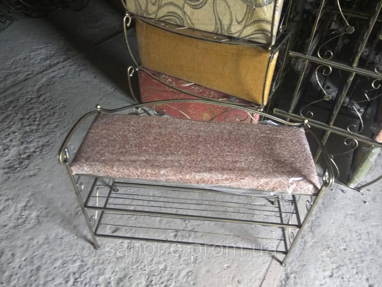 Кованый диванчик 80см.