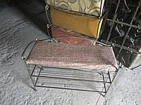 Кованый диванчик 80см., фото 1