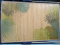 Коврик бамбуковый 60 * 90 см , 70 * 120 см .