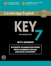 Cambridge English: Key 7 Authentic Examination Papers from Cambridge ESOL with answers and Audio CD