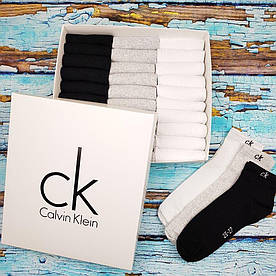 Носки низкие Calvin Klein набор от 6 до 60шт