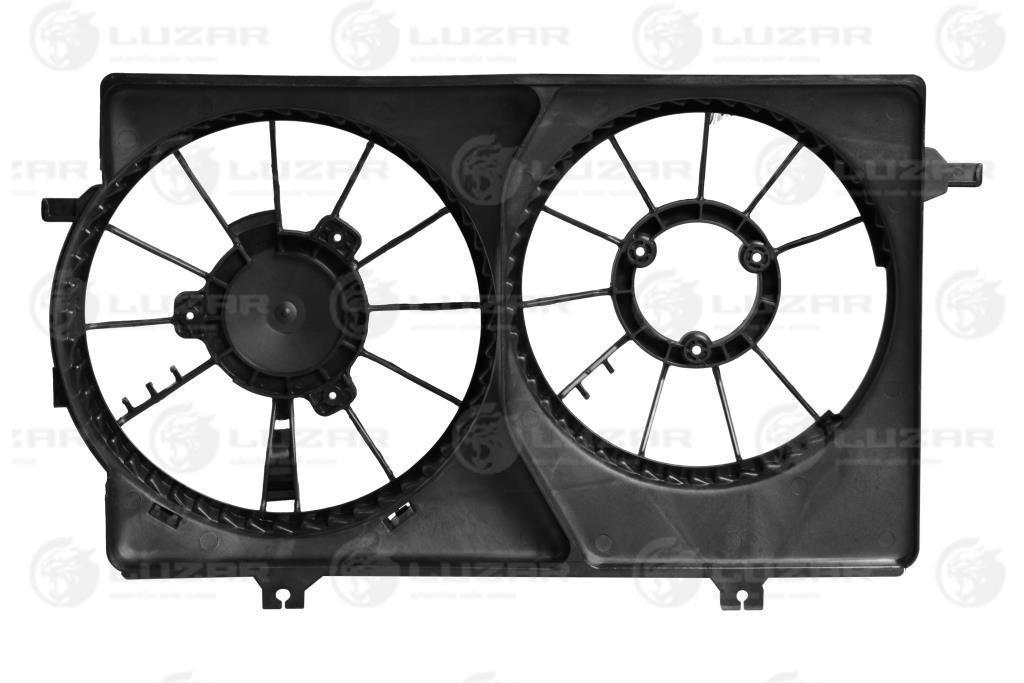Кожух вентилятора охлаждения Приора Halla