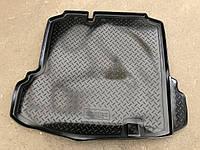 Коврик багажника (корыто)-полиуретановый, черный volkswagen jetta V (фольксваген джетта 5) 2005г-2010г