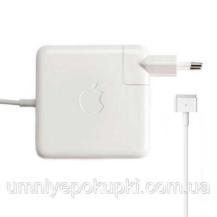 Блок живлення Dellta Pro для ноутбука Apple MacBook (60W) MagSafe 2 Type C Білий, фото 2