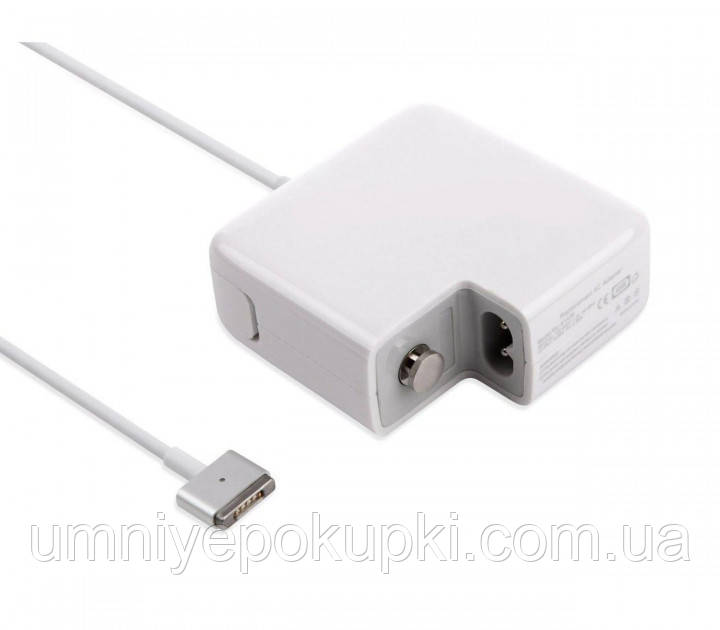 Блок живлення Dellta Pro для ноутбука Apple MacBook (60W) MagSafe 2 Type C Білий