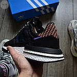 Мужские кроссовки Adidas ZX 500 Commonwealth (черные) 367TP, фото 6