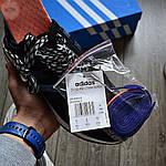 Мужские кроссовки Adidas ZX 500 Commonwealth (черные) 367TP, фото 5