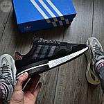 Мужские кроссовки Adidas ZX 500 Commonwealth (черные) 367TP, фото 8