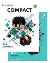 Compact Key for Schools Second Edition Student's Pack – комплект (учебник + тетрадь) / Cambridge