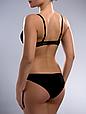 Комплект женского нижнего белья Acousma A6358-1BC-P6358H оптом, чашка C, цвет Черно-Бежевый, фото 3