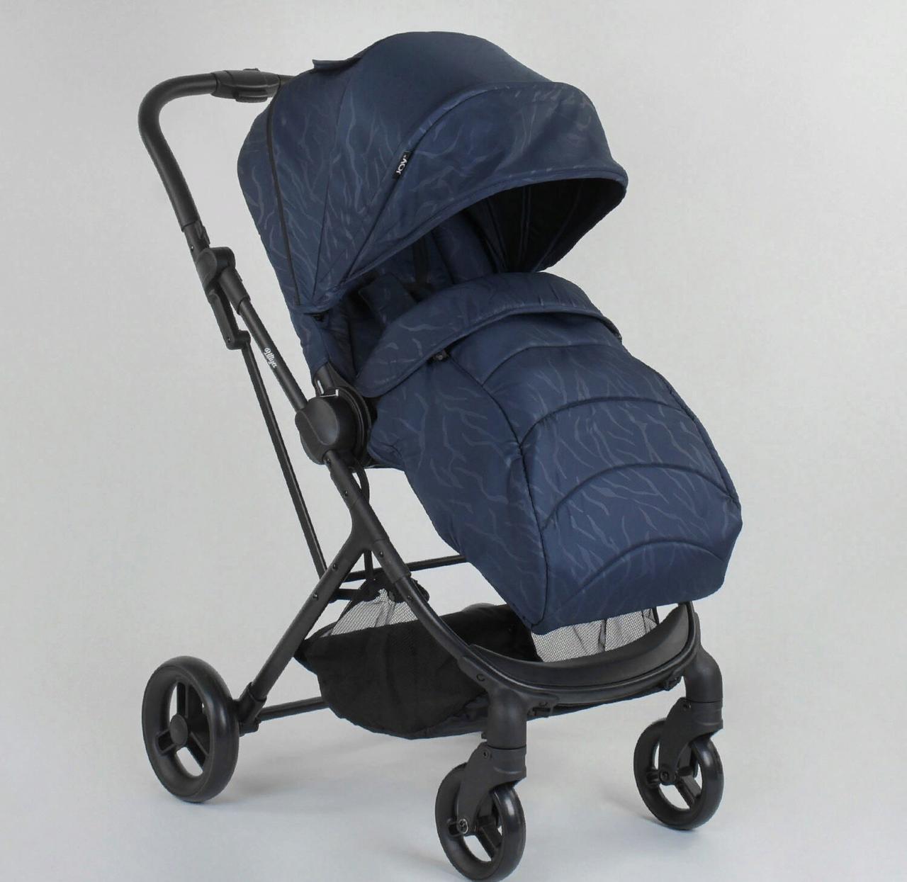 Детская прогулочная коляска Liliya 66916  синяя