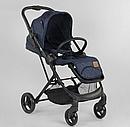 Детская прогулочная коляска Liliya 66916  синяя, фото 4