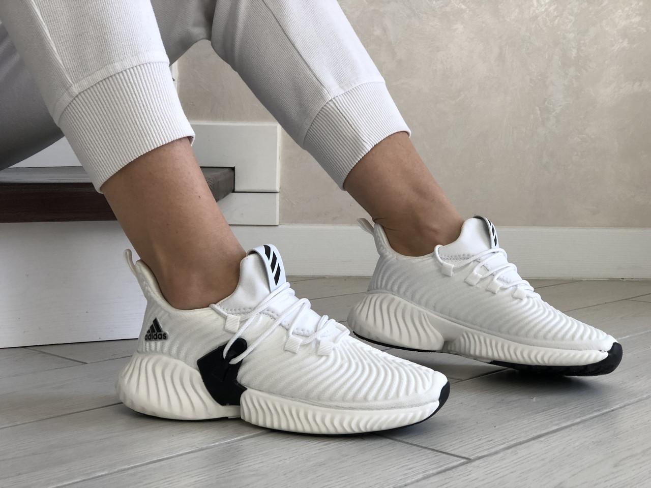 Женские кроссовки Adidas (белые) 9253