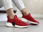 Жіночі кросівки Adidas (червоні) 9256, фото 2