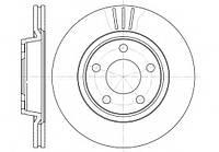 Тормозной диск передний AUDI A4 1.6/1.9TDI (-2008г),AUDI A8 3.2 FSI/2.8 FSI (-2010г),пр-во ABE C3W016ABE, фото 1
