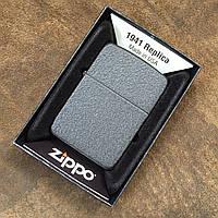 Зажигалка Zippo Black Crackle 1941 Vintage Replica (28582)