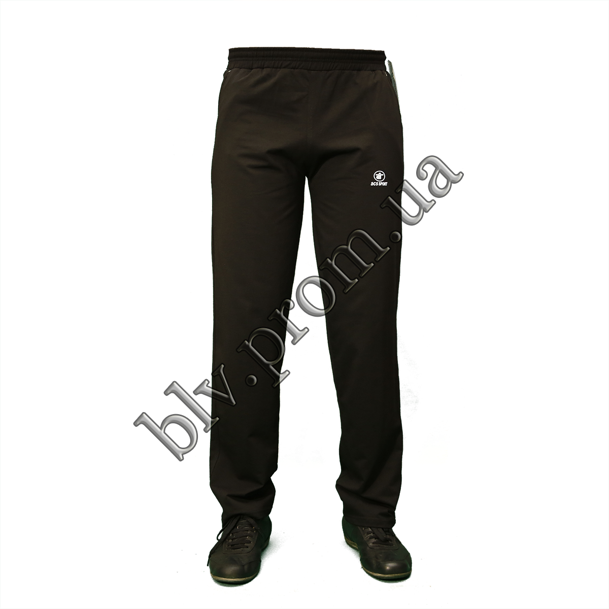 Мужские трикотажные брюки пр-во Турция K304 Black