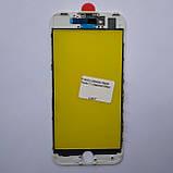 Скло корпусу Novacel для Apple iPhone 7 з рамкою White, фото 2