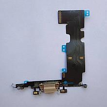 Шлейф Novacel для Apple iPhone 8 Plus коннектора зарядки коннектора навушників з компонентами Gold