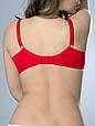Бюстгальтер Diorella 65019E оптом, чашка E, цвет Красный, фото 4