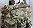 Тактический рюкзак камуфляж цифра, пиксель, ВСУ 80 л, фото 10