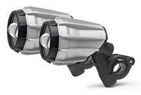 Дополнительный свет (фары) для мотоцикла Givi S320 алюминий