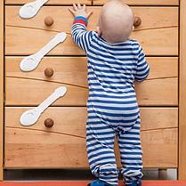 Замки на мебель, окна, холодильник для детской безопасности