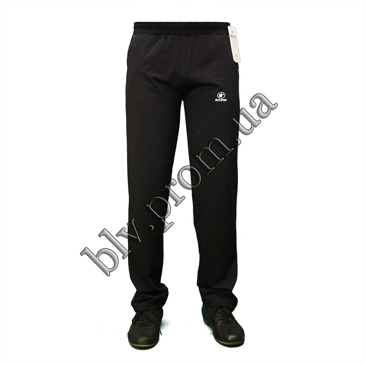 Мужские трикотажные брюки пр-во Турция K304 Dark blue