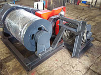 Лебедка тяговая маневровая двухбарабанная ЛЭМ-10