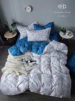 Шикарное сатиновое постельное белье от производителя с ярким принтом Море 1,5 (полуторный комплект)