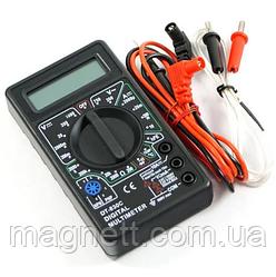 Мультитестер цифровой (мультиметр) DT-838