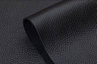 Натуральная кожа Флотар, черная, галантерейная, обувная, глянец,КРС