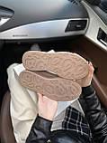 Стильні жіночі кросівки Alexander McQueen (Олександр Маквин) Patent Beige, фото 6