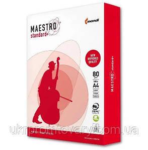 Бумага офисная Maestro Standart+ А4 класс С+ 80 г/м2 500 листов Белая ОПТ, фото 2