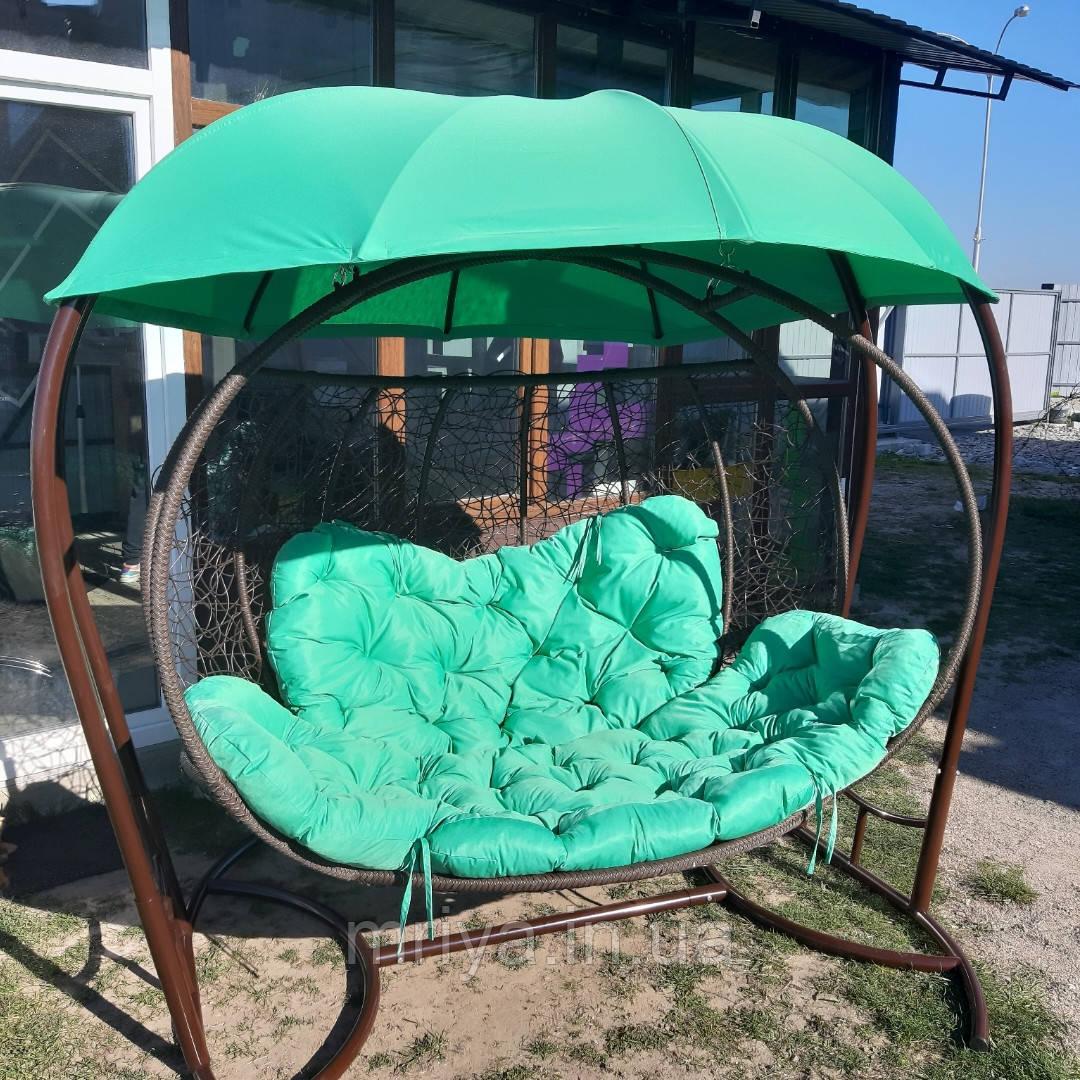 Кресло кокон 3х месная симейная
