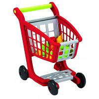 Игровой набор Ecoiffier Тележка для супермаркета с продуктами (001225)
